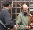 Photo: Musicians - Maison de Granit, Treguiers, France